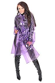 PVC 50s Raincoat Plastilicious Plastic Fetisch Wear