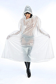PVC Enclosed Cape Plastilicious Plastic Fetisch Wear