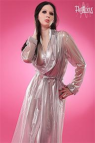 PVC Dressing Gown Plastilicious Plastic Fetisch Wear