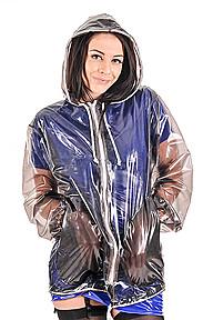 PVC Jelly Coat Plastilicious Plastic Fetisch Wear