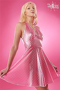 PVC Halterneck Dress Plastilicious Plastic Fetisch Wear