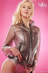 PVC Biker Jacket Plastilicious Plastic Fetisch Wear
