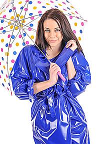 PVC Wrapover Raincoat Plastilicious Plastic Fetisch Wear