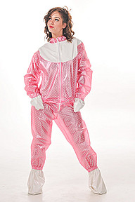 PVC Romper Suit Plastilicious Plastic Fetisch Wear