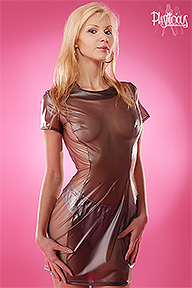 Slimming Dress Plastilicious Plastic Fetisch Wear