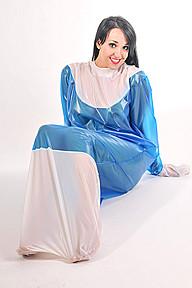 PVC Unisex Sleep Sack Plastilicious Plastic Fetisch Wear